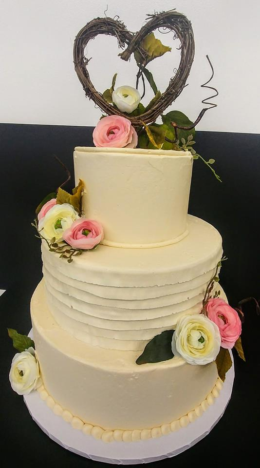 3 Tier Wreath Wedding