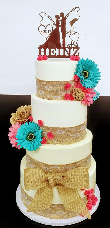 4 Tier Heinz Wedding