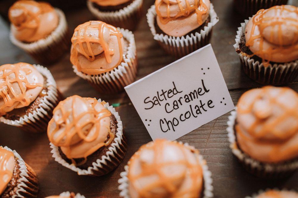 S&C Caramel Cupcakes