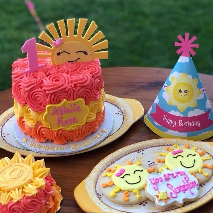 Sunshine Cookies and Cake
